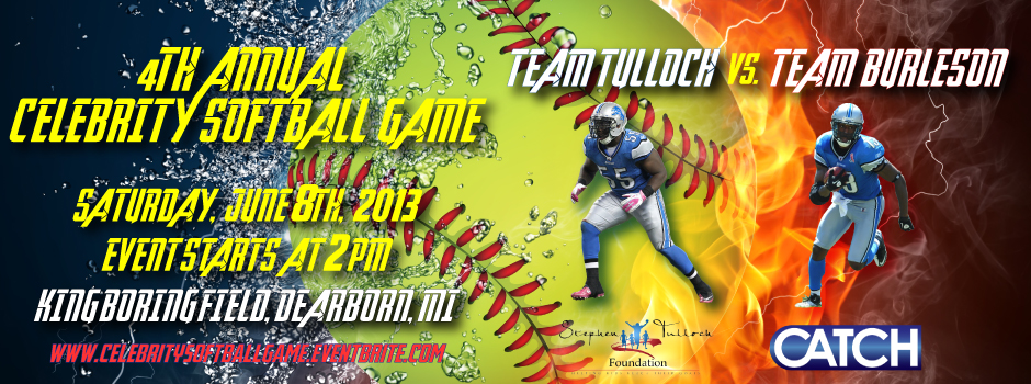 2013 CELEB SOFTBALL GAME
